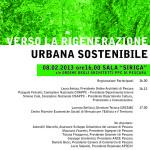 """Tavola rotonda  """"Verso la Rigenerazione Urbana Sostenibile"""""""
