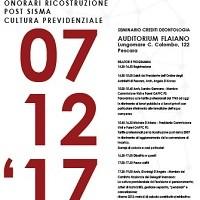 Seminario deontologico all'Auditorium Flaiano